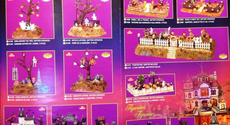 lemax spooky town michaels catalogs - Halloween Catalogs