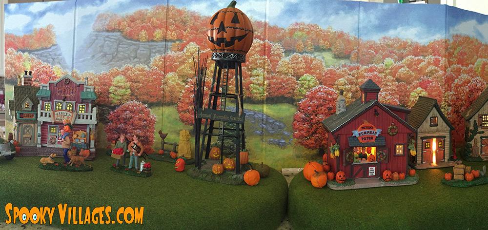 Review Lemax Peter S Pumpkin Patch Spookyvillages Com